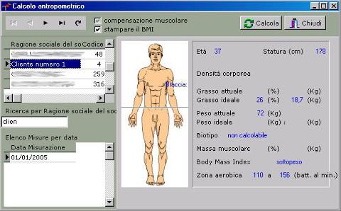 software plicometria